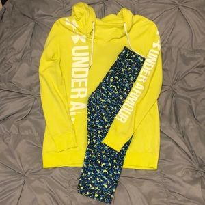 Women's Large UA outfit